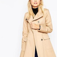 ASOS | ASOS Trench with Funnel Neck at ASOS