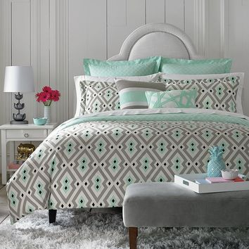 Happy Chic by Jonathan Adler Nina 3-pc. Reversible Comforter Set - Full / Queen (Green)