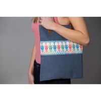 Shajara market bag (blue)