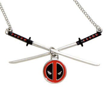 Marvel Deadpool Katana Necklace