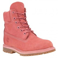 BareBones WorkWear - Timberland TB0A12LS661 Women's Icon 6-in Premium Boot Dusty Rose