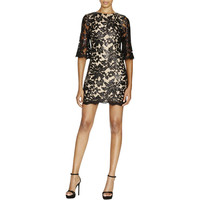 Dress The Population Womens Melody Lace Sequined Party Dress
