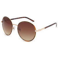 Full Tilt Janis Sunglasses Tortoise One Size For Women 23606640101