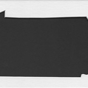 Pack of 3 Pennsylvania State Stencils Made from 4 Ply Mat Board 18x24, 16x20, 11x14