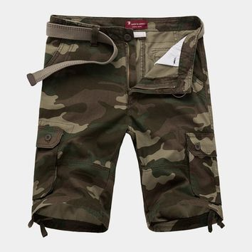 29-42 New 2017 Men Shorts Military Shorts Cargo Camo Shorts Casual Fashion Baggy Tactical Army Camouflage Shorts Plus Size 12049