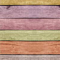 Pastel colors wood boards pattern, horizontal lines colorful yoga mat design