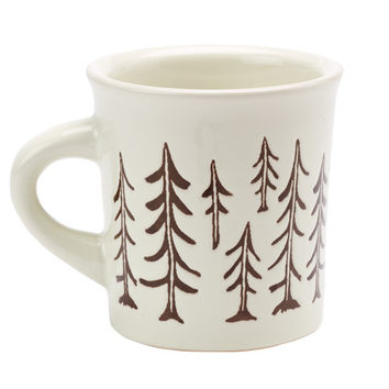 Ore' Originals Happy Products - Cuppa This Cuppa That® Mug - Pine Trees Forest