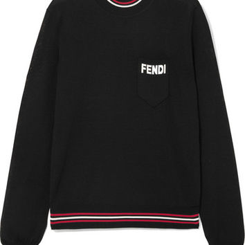 Fendi - Silk turtleneck sweater