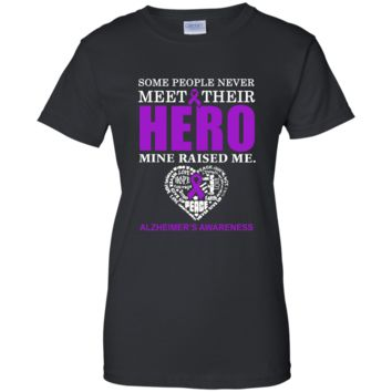 Some People Never Meet Their Hero T-Shirt Ladies Custom 100% Cotton T-Shirt