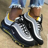 Nike Air Max 97 Fashionable Men Casual Running Sport Shoes Sneakers I/A