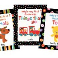 Usborne Books & More. Baby's Very First Flashcards Collection (3)