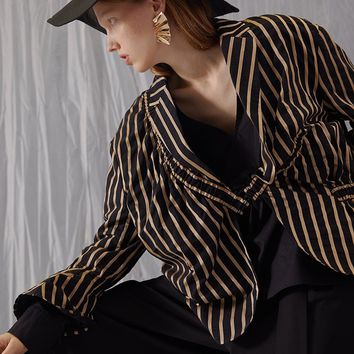 Stripe Blazer Jacket