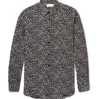 Saint Laurent - Heart-Print Silk Shirt | MR PORTER