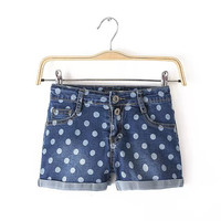 Summer Slim Denim Shorts Pants Leggings [4917838020]