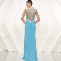 Chiffon Sexy V Neck With Ruched Empire Prom Dress - Basadress.com
