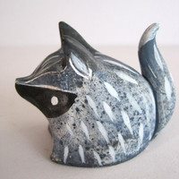 little fox sculpture by OddFauna on Etsy