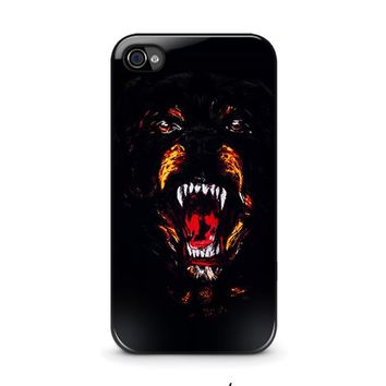 givenchy rottweiler iphone 4 4s case cover  number 1
