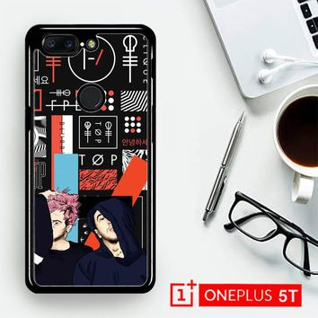 Twenty One Pilots Skeleton Clique X3471  OnePLus 5T / One Plus 5T Case