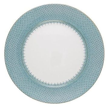 MOTTAHEDEH Lace Service Plate - Turquoise