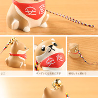 Strapya World : Shiba Inu Dog Netsuke Cell Phone Strap Charm