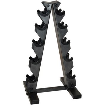 CAP Barbell Black A Frame Dumbbell Rack - Walmart.com
