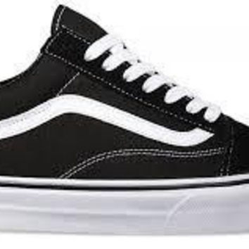 Vans Old Skool-Black/Wht