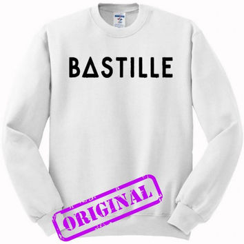 Bastille for sweater white, sweatshirt white unisex adult