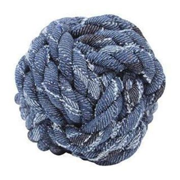 ONETOW Mammoth Denim Rope Monkey Fist Small 3.75