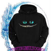 cheshire cat face,alice in wonderland Sweatshirt hoodie gift valentine days