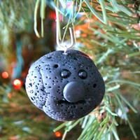 Lump of COAL Polymer Clay Ornament