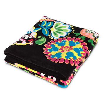 Disney Midnight with Mickey Fleece Throw by Vera Bradley | Disney Store