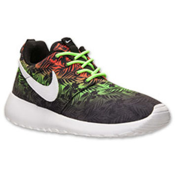 Boys' Grade School Nike Roshe Run Print Casual Shoes