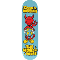 World Industries Devil Man The World Is Yours Deck