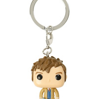 Funko Doctor Who Pocket Pop! Tenth Doctor Key Chain