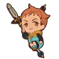 Seven Deadly Sins: King Pvc Keychain ~ King The Grizzly's Sin of Sloth