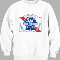 PABST BLUE RIBBON Sweater for Mens Sweater and Womens Sweater *