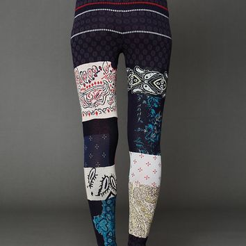 Free People Patchwork Sweater Legging