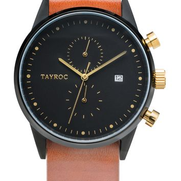TXM087 - Brown Leather NATO