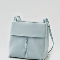 AEO Textured Crossbody Bag , Blue