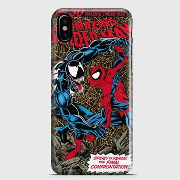 Vintage Spiderman Cover iPhone X Case | casescraft