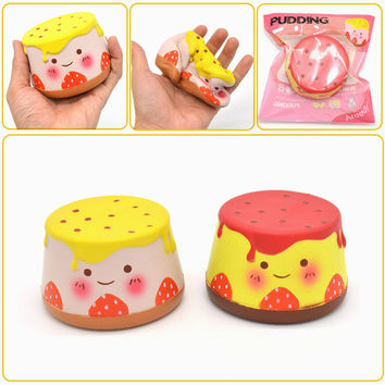 Areedy Squishy Pudding 10cm Slow Rising Original Packaging Collection Gift Decor Toy
