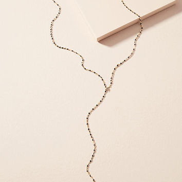 Twinkling Chain Lariat Necklace