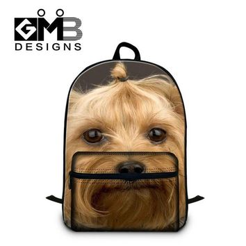 Boys bookbag trendy Dog Backpacks for Girls Cute School s Laptop back pack for College Boys Cute Mochilas Schoolbags for teenagers Book bags AT_51_3