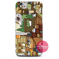 Neko Atsume Playing iPhone Case Cover Series