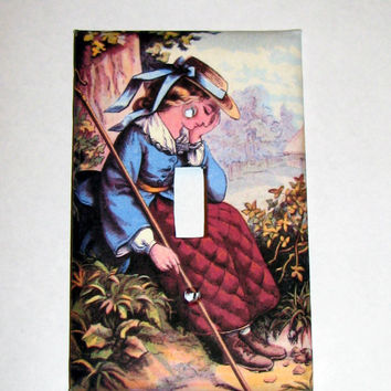 Light Switch Cover - Light Switch Plate Little Bo Peep Nursery Rhyme