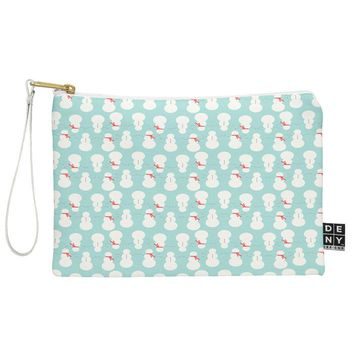 Allyson Johnson Cute Snowmen Pouch