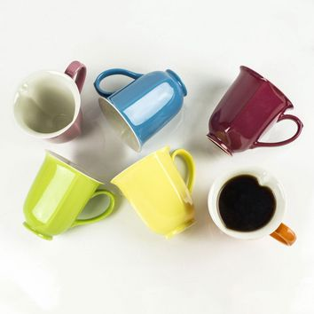 Inside Out Heart Mugs - Set of 6