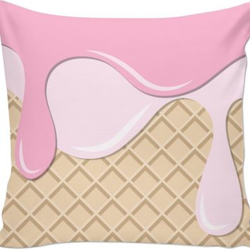 ROCP Ice Cream Cone Couch Pillow