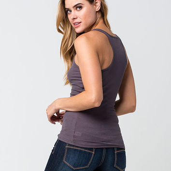 ACTIVE Ribbed Racerback Womens Tank | Essentials