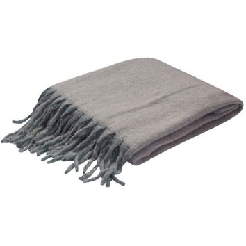 Aspen Grey Throw Blanket